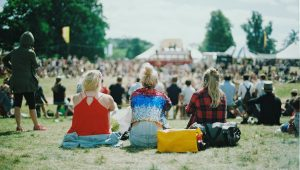 Survive your period at a festival